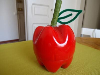 ساخت سیب با بطری نوشابه