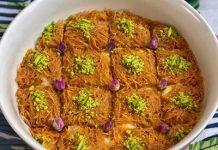 طرز تهیه باقلوا شعریه عربی خوشمزه