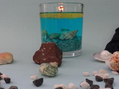 آموزش ساخت شمع شناور روی آب