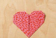 آموزش اوریگامی قلب به دو روش مختلف