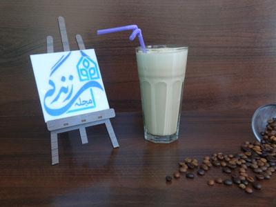 طرز تهیه میلک شیک قهوه