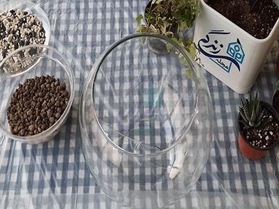 ظرف مناسب برای ساخت تراریوم