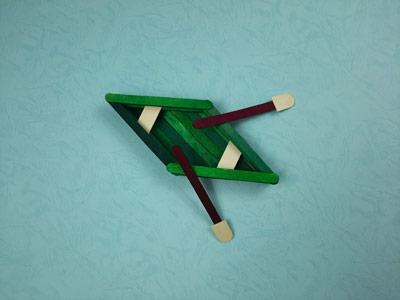 آموز ش ساخت قایق با چوب بستنی