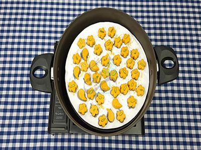 طرز تهیه شیرینی نخودچی خانگی بدون فر