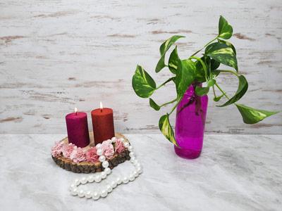 آموزش ساخت شمع اکلیلی