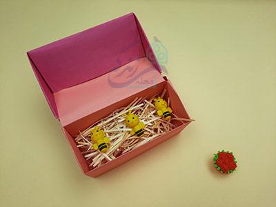 مدل دوم آموزش کاردستی جعبه